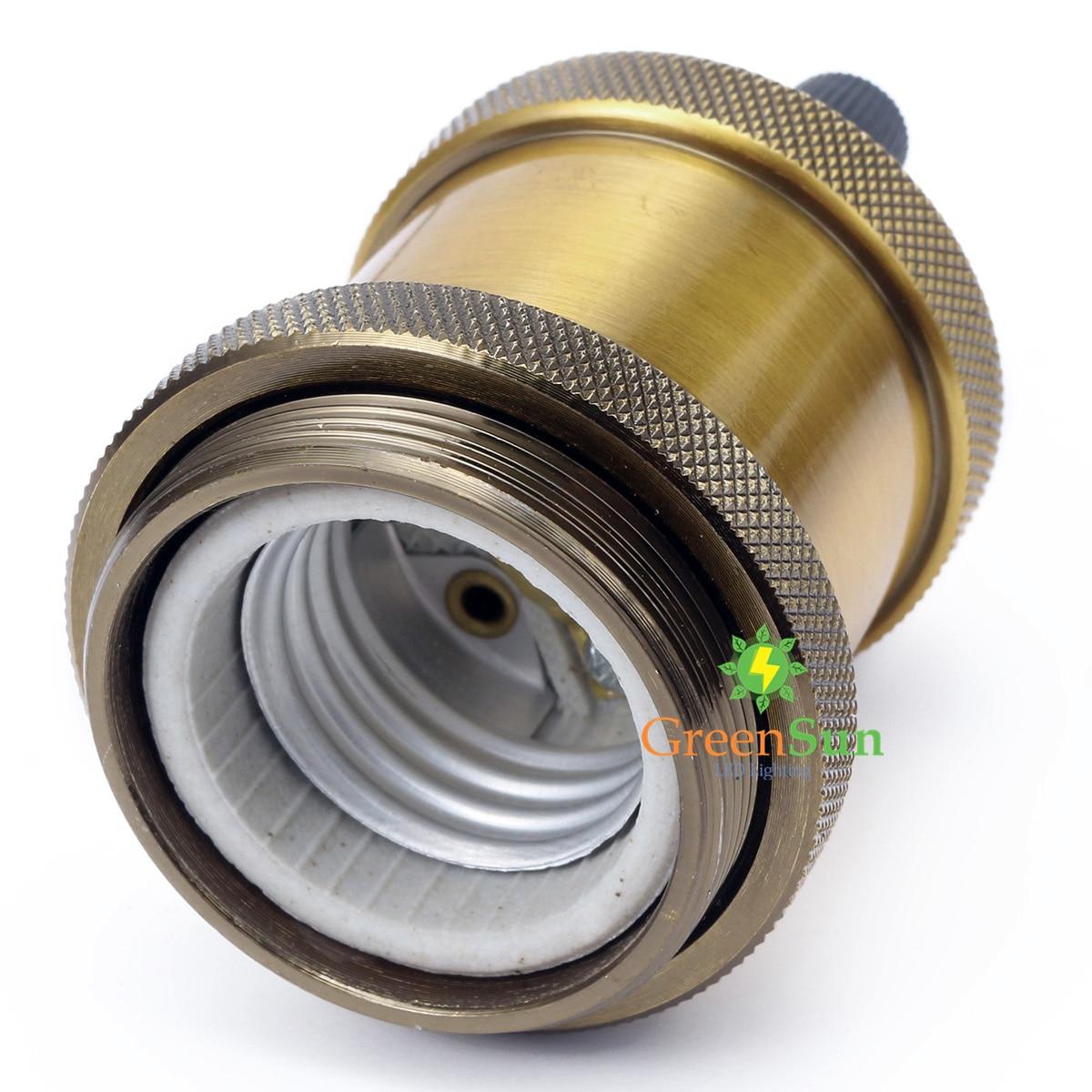 Bases da Lâmpada e27 lâmpada base da lâmpada Material : Aluminum + Pottery And Porcelain