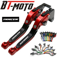 Motorcycle Accessories Short Brake Clutch Levers For Yamaha MT09 MT 09 MT 09 MT 07 MT 07 MT07 MT 10 MT 10 TRACER 2014 2015 2018