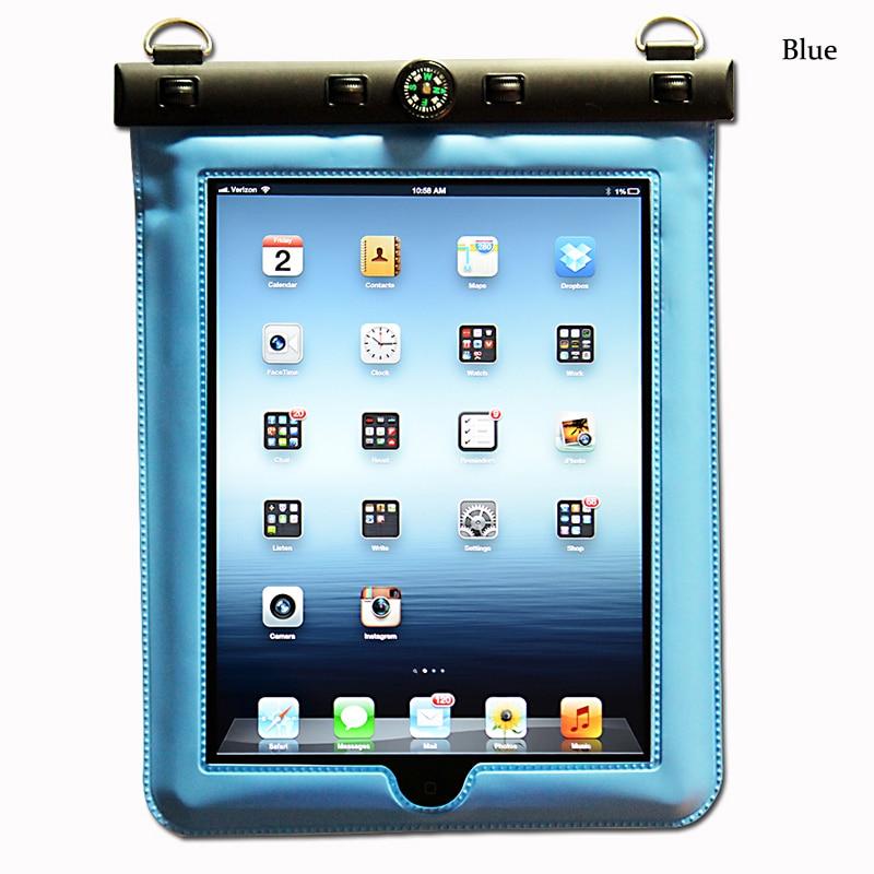 imágenes para 9.7-10.1 pulgadas Caja de la Tableta Bolsa Protectora Impermeable para iPd Aire Mini Samsung Galaxy Tab Dell Asus Ultra Claro