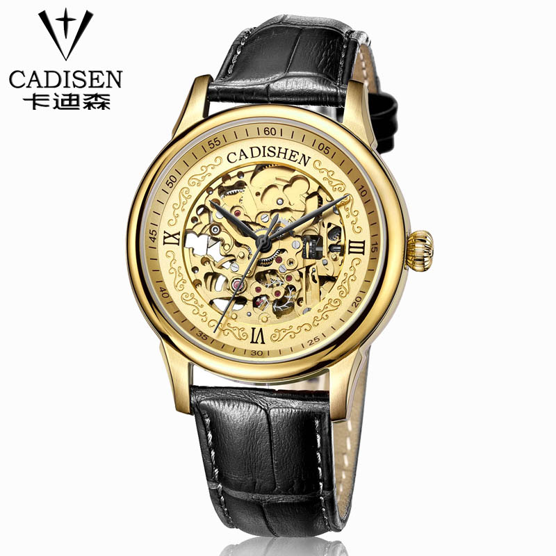 Automatical Mechanical Watches Men Luxury Brand Wrist Watch Male Clock Leather Wristwatch Men Skeleton Casual Business Watch automatical mechanical watches qlls men luxury brand wrist watch male clock steel wristwatch men skeleton casual business watch
