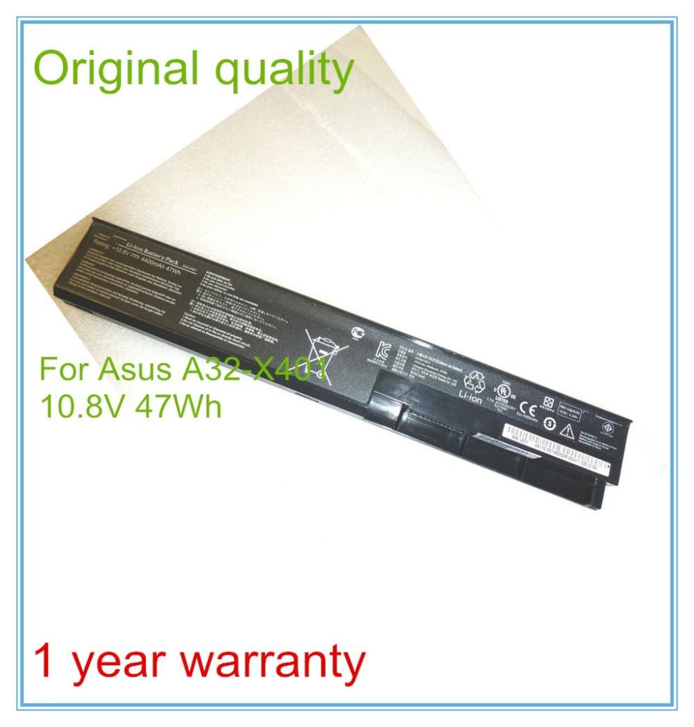 Original 47Wh A31-X401 A41-X401 A32-X401 laptop battery For X301A X301KI235A X301U X401A X501A X301KB815A цены