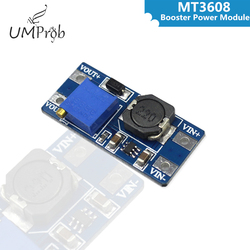 MT3608 DC-DC повышающий усилитель конвертера модуль питания повышающая плата макс. выход 28В 2А для arduino
