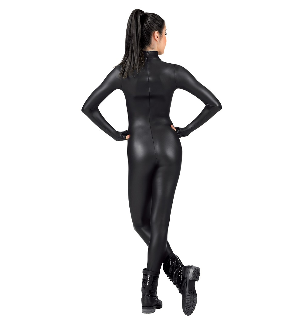 Mock neck Catsuit (12)