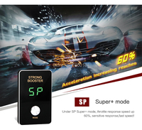 Mini 8 mode overtake device auto pedal box Potent Booster car electronic throttle Controller for Jinbei 750 730 Passion driving