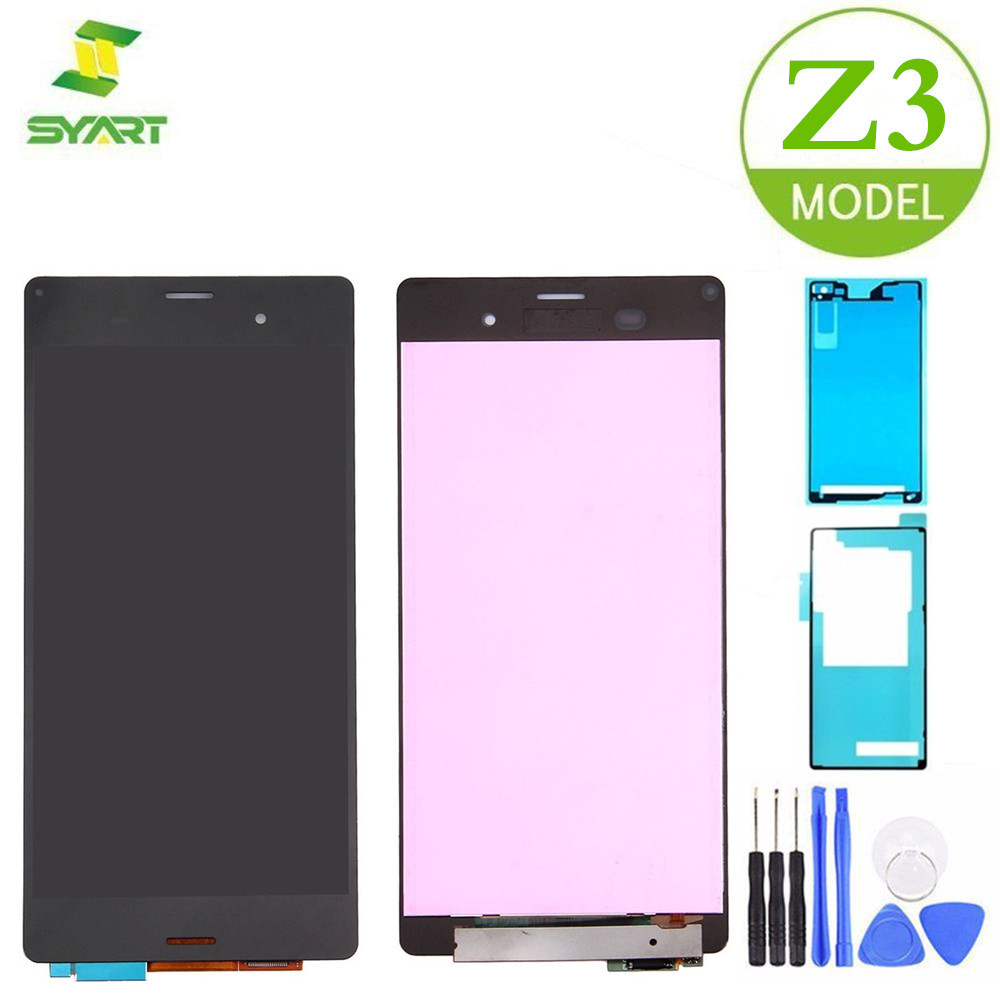 For <font><b>Sony</b></font> Xperia <font><b>Z3</b></font> LCD Display Touch Screen Digitizer Assembly Replacement Parts + Tools For <font><b>D6603</b></font> D6633 D6653 5.2