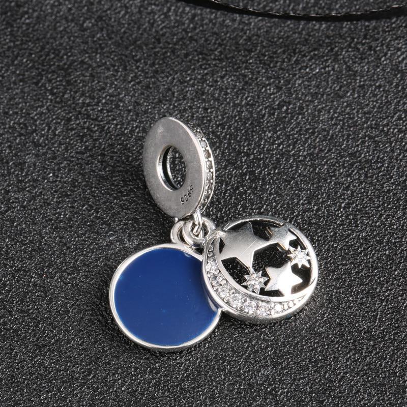 vruće 925 srebro Europski kubni cirkonij Charm perle Fit Pandora - Modni nakit - Foto 6