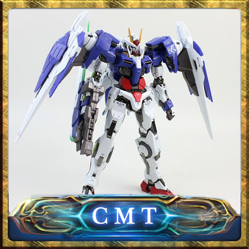 CMT Metal Build OO 00 Raiser Robot Model Kit GN 0000 by Metal Club Metal Gear action figure model fans in stock metalgearmodels metal build mb gundam oo raiser oor trans am system color action figure