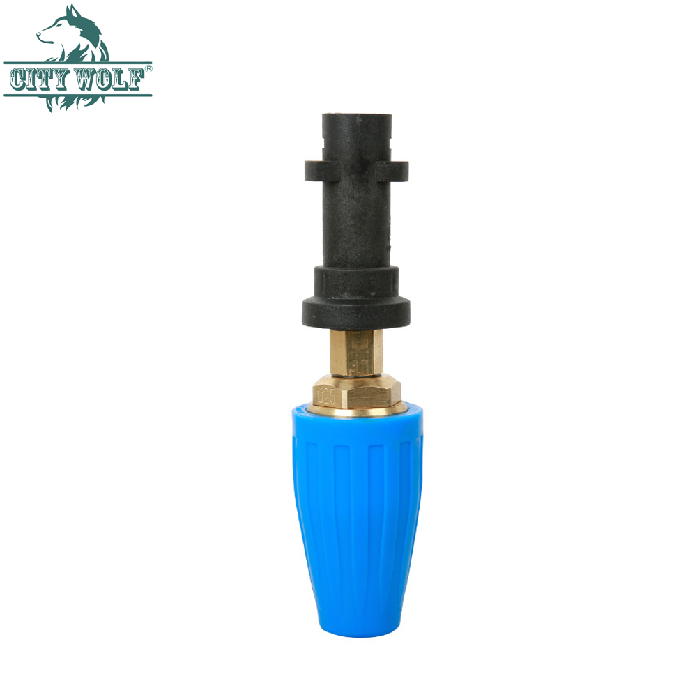 City wolf high pressure washer brass turbo nozzle 3600PSI for Karcher K2 K7 car washer accessory Car Washer     - title=