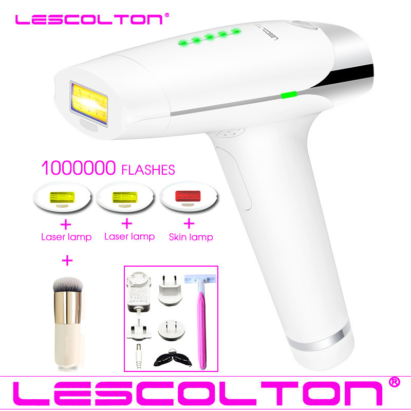 Permanent IPL Laser Epilator Laser Hair Removal Depilation Machine For Body Bikini Depilatory Shaver 1000000 or700000times