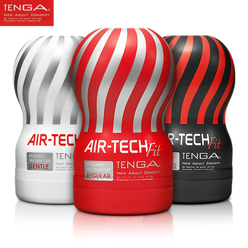 TENGA AIR-TECH FIT Reusable Vacuum CUP Male Masturbator For Man,Erotic Adult Vagina Real Pussy Sex Toys For Men Masturbatings