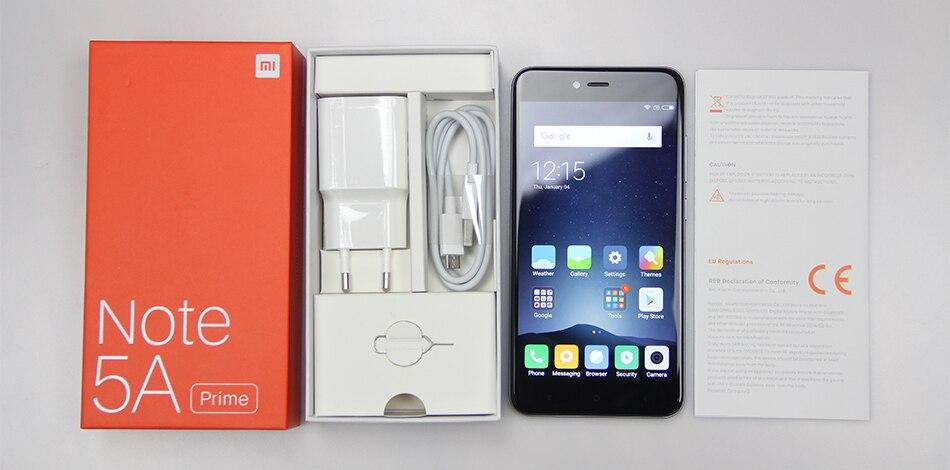 Xiaomi Redmi Note 5A Prime 1