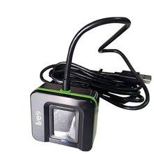 Цифровой персональный USB биометрический сканер отпечатков пальцев считыватель отпечатков пальцев Бесплатный SDK металлический чехол WINDOWS LINUX ANDROID SDK