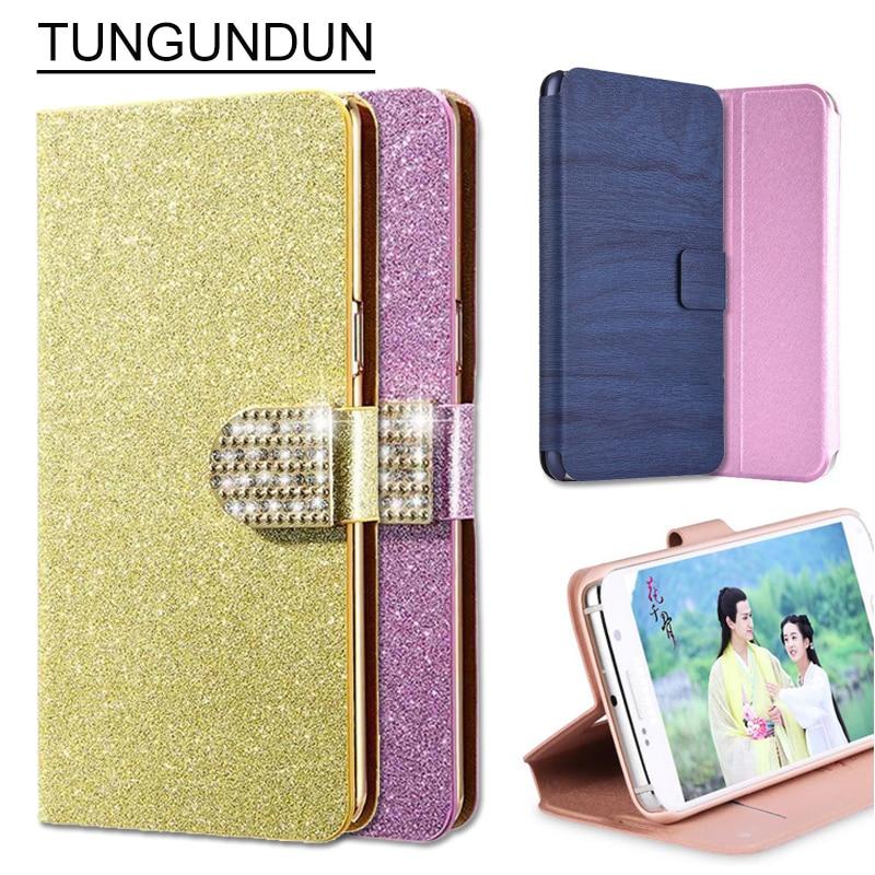 (3 sloge) Vroča luksuzna magnetna PU usnjena torbica za Wiko Lenny 2 - Dodatki in nadomestni deli za mobilne telefone