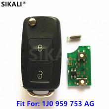 Car Remote Key for 1J0959753AG 5FA008399-00 Beetle Bora Golf Passat Polo Transporter T5 for VW/VolksWagen(China)