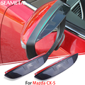 For Mazda CX-5 CX5 2013 2014 2015 2016 2017 Car Rearview Mirror Eyebrow Blade Protector Exterior ABS Accessories