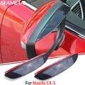Para Mazda CX-5 2013 2014 CX5 2015 2016 2017 Espelho Retrovisor Do Carro Protetor de Lâmina Sobrancelha Exterior ABS Acessórios