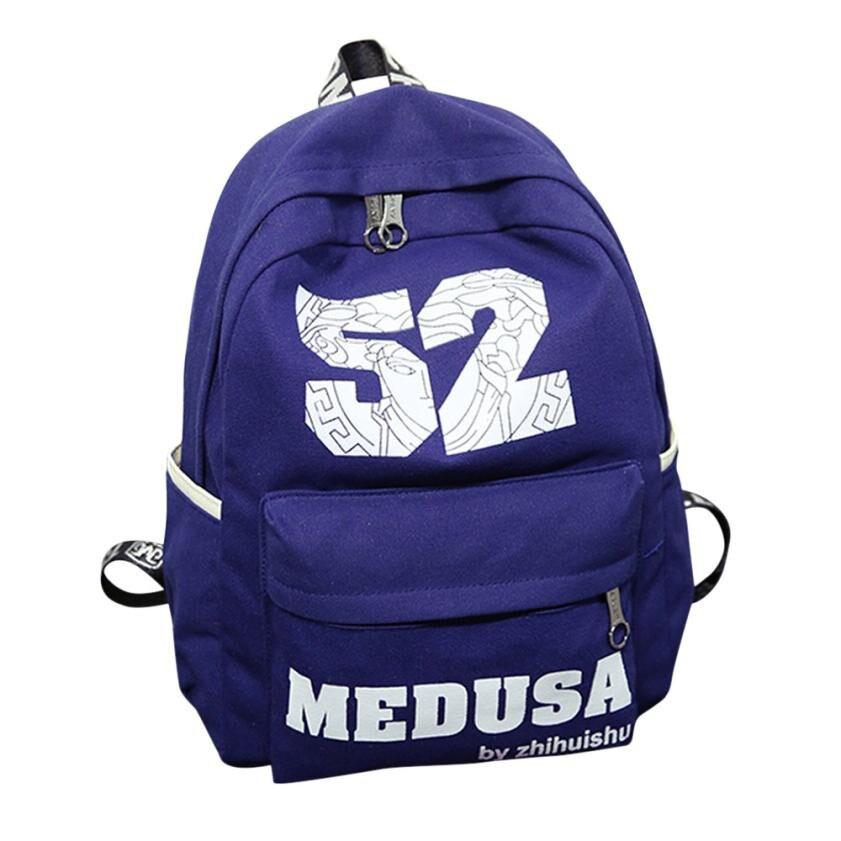 Digital Number Zipper Shoulder PC Laptop Backpack Women Neutral School Rucksack Gripesack Backpack Bookbag Backpacks Satchel#30