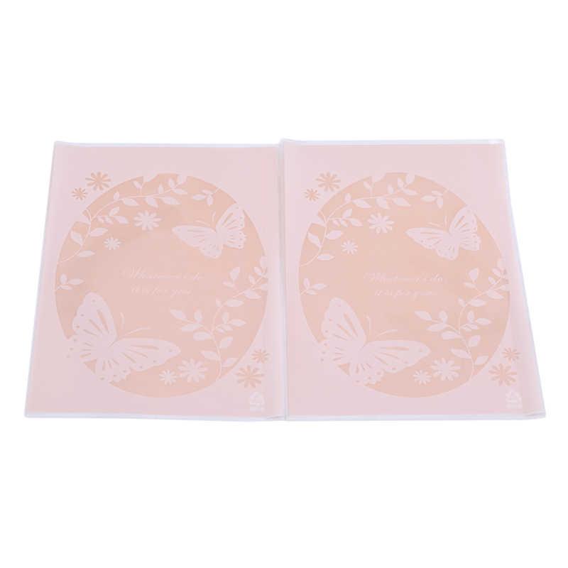 100 cái/lốc Dễ Thương Tự Dính Bướm Nhựa Cookie Bao Bì Túi Cupcake Wrapper Túi 13x19 cm Cho Bánh Quy Snack gói
