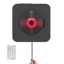 Boombox altavoz Portátil con Bluetooth y Control remoto, reproductor de CD y MP3 portátil para Audio en casa, Radio FM, repetidor USB