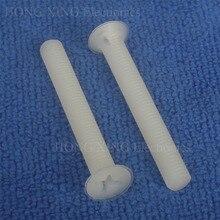 M5 White Flat head Phillips Screws Nylon Plastic Screw Cross Recessed Countersunk screw M5*8/10/15/20/25/30/35/40mm m5 m5 14 m5x14 m5 16 m5x16 m5 18 m5x18 304 316 stainless steel ss din965 philips cross recessed countersunk csk flat head screw
