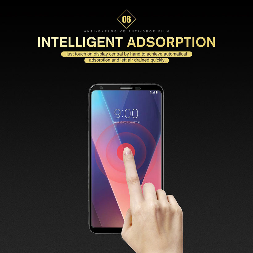 Image 4 - Coverage Full Tempered Glass Film For LG V30 V40 V50 V30S ThinQ G8 K12 Plus G7 V35 Sceen Protector Toughened Protective Glass-in Phone Screen Protectors from Cellphones & Telecommunications
