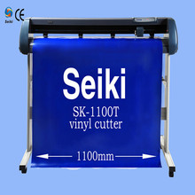 factory direct sell sticker cutting machine/vinyl cutter plotter 1100mm cutting plotter