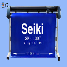 factory direct sell sticker cutting machine/vinyl cutter plotter 1100mm cutting plotter