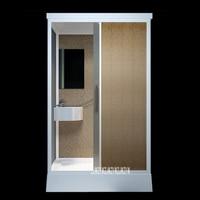 Household Shower Room Bathroom Tempered Glass Shower Cabins Home Integrated Bathroom Shower Room/Shower Enclosures 220V (1.2*1m)
