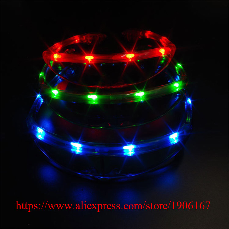 Hot Sale Led luminous Party Glasses Led Lighting Classic Gift Bright Light Festival Gift Led Flashing Party Supplies
