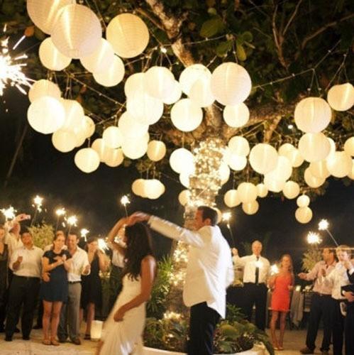 8 20cm 10pc Chinese Paper Lanterns Decorative Balloon Wedding Party Home Festival Yard Garden Hanging Decor Fiesta