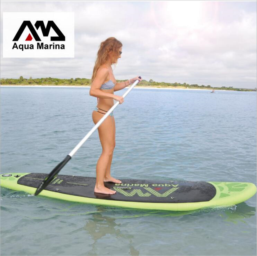 AQUA MARINA 10ft BREEZE stand up paddle board inflatable surf board surfboard inflatable boat kayak with paddle to choose 2016 big cheaper 10 10 vapor surfing stand up paddle board sup board paddle board surf board sup kayak inflatable boat