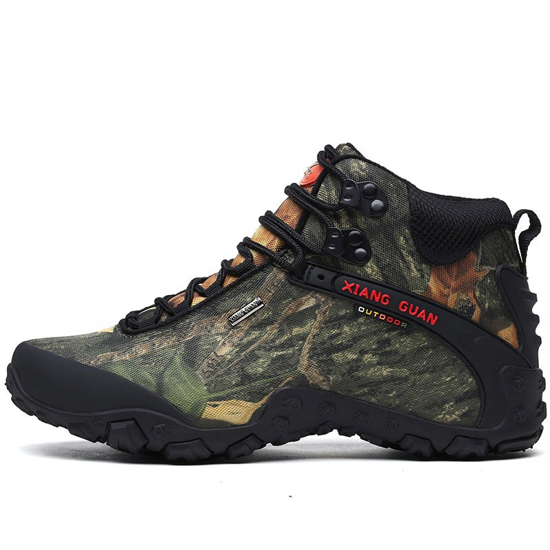 7cbadf98ba7 Hot Sale] Newest Men Hiking Shoes Waterproof Canvas Outdoor Shoes ...