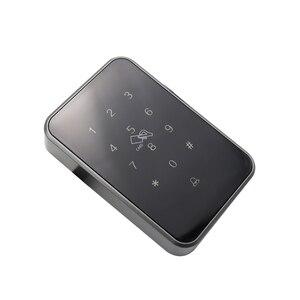Image 2 - Cerradura electrónica inteligente con Bluetooth para puerta cerradura de puerta Digital con Wifi, control de largo alcance, cerradura segura de vidrio para oficina, Lector de Control de Acceso