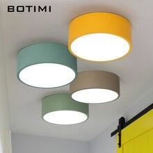 BOTIMI Neue Ankunft LED Decke Lichter Bunte Decke Lampe Für Flur Farben Kinder Zimmer Licht Metall Lampenschirm Küche Beleuchtung
