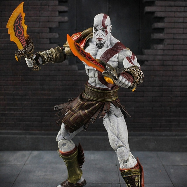 18 CM God of War 3 Kratos Ghost Of Sparta Final PVC Action Figure Collectible Modelo Toy