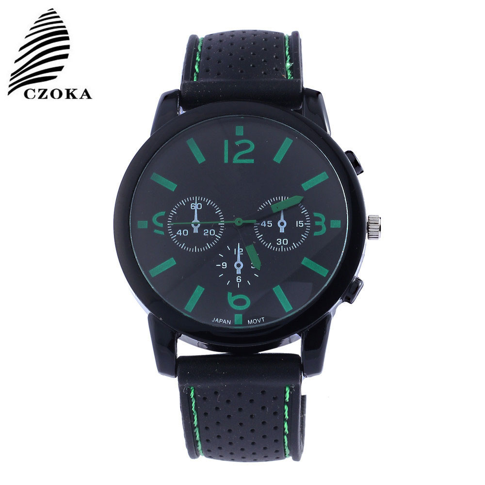 CZOKA Student /Girl/Boy Watch Children Watches Watch Zegarek Damski Sport Watch Kol Saati Silica Gel Watch Relogio Feminino