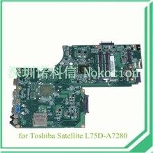 A000243950 DA0BD9MB8F0 for toshiba satellite L75 L75D L75D-A7280 Motherboard ALL in one CPU A6-5200 ddr3