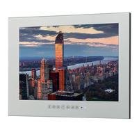 26 Inch Mirror Bathroom TV Waterproof LCD TV Mirror Finish