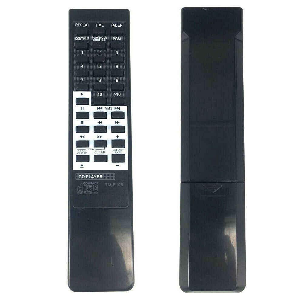 RM-E195 Ersatz Fernbedienung Für Sony 228ESD 227ESD CDP-X33 CDP-950 CDP-590 CDP-790 ABS Silikon CE1447