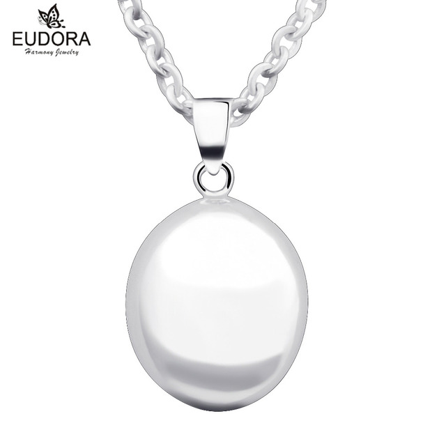 Eudora harmony ball necklace pregnancy prayer bell egg pendant angel eudora harmony ball necklace pregnancy prayer bell egg pendant angel jewelry make soothing sound best gift mozeypictures Images