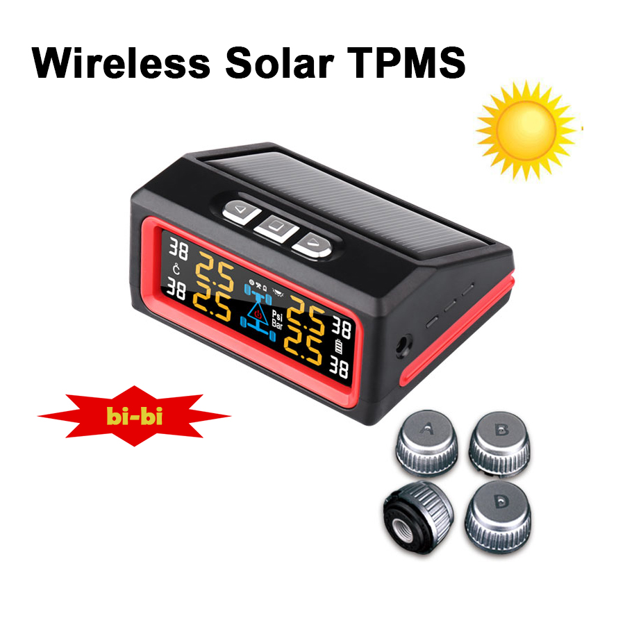 2016 hot selling spy original wireless solar tire pressure monitoring system tpms with high. Black Bedroom Furniture Sets. Home Design Ideas