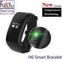 Betreasure Bluetooth H6 Смарт Браслет Группы Heart Rate Smartband Активность Tracker Фитнес Смарт-Браслет для IOS Android Phone