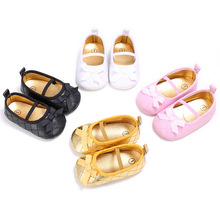 Newborn Baby Girls Shoes First Walkers New Style Anti-slip Soft Soled Infant Toddle Baby Kids Princess Shoes For Crib Bebe 0-1T