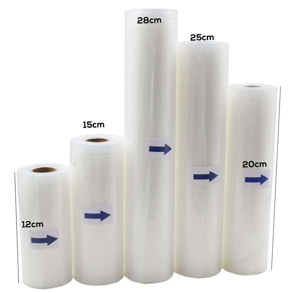 Household Food saver Vacuum bag Storage Bags Machine Film Sealer Vacuum Packer Saran Wrap Food Fresh Long Keeping 1 Roll цена