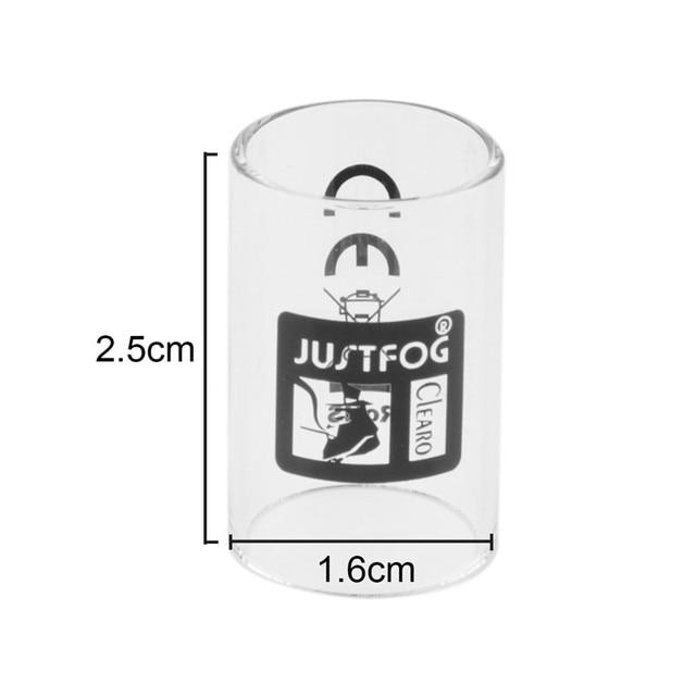 Original Justfog Q16 Tank Glass Tube Vape Accessories For Justfog Q16 Atomizer Kit E-Cigarettes Pyrex Replacement Glass Tube 2