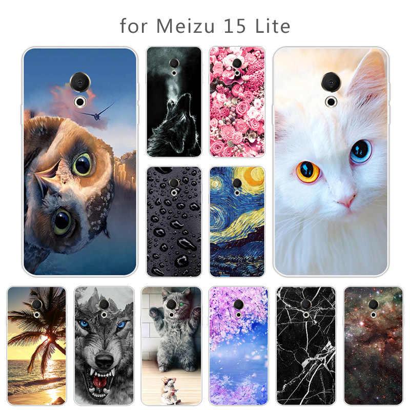 עבור Meizu 15 לייט X8 16X M6T MX6 U10 U20 מקרה רך TPU אופנה תשוקה סלולרי טלפון חזרה כיסוי עבור meizu M2 M3 הערה ג 'ל מקרה טלפון