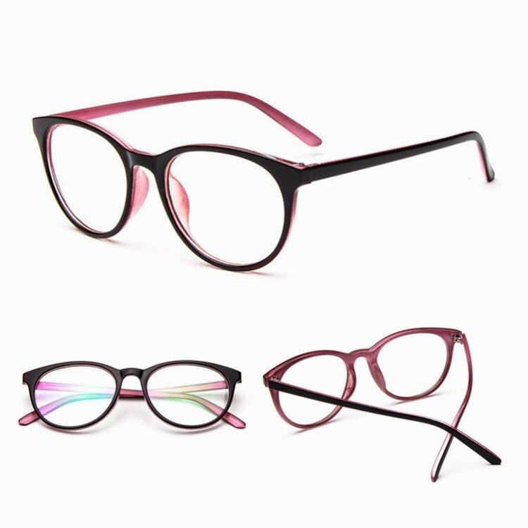 Armações de Óculos de Grau Armação de óculos de Design da marca Senhoras  Das Mulheres Dos Homens Espelho Óptico de Computador Do Vintage Óculos  Femininos ... a3e31c76bd