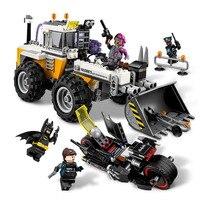 LEPIN Batman Hai Mặt Đôi Phá Dỡ Building Blocks Gạch Đặt Movie Mẫu Trẻ Em Cổ Điển Đồ Chơi Marvel Tương Thích Legoings