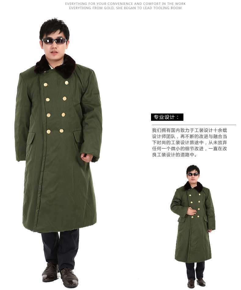 Online Shop Men Winter X-Long Military Coat 2015 New Mens Thicken ...