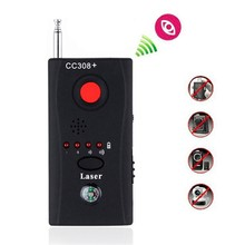 Multi-Function Wireless Camera Lens Signal Detector CC308+ Radio Wave Signal Detect Camera Full-range WiFi RF GSM Device Finder 1 pcs wireless signal rf detector tracer hidden camera finder ghost sensor 100 2400 mhz gsm alarm device radio frequency check